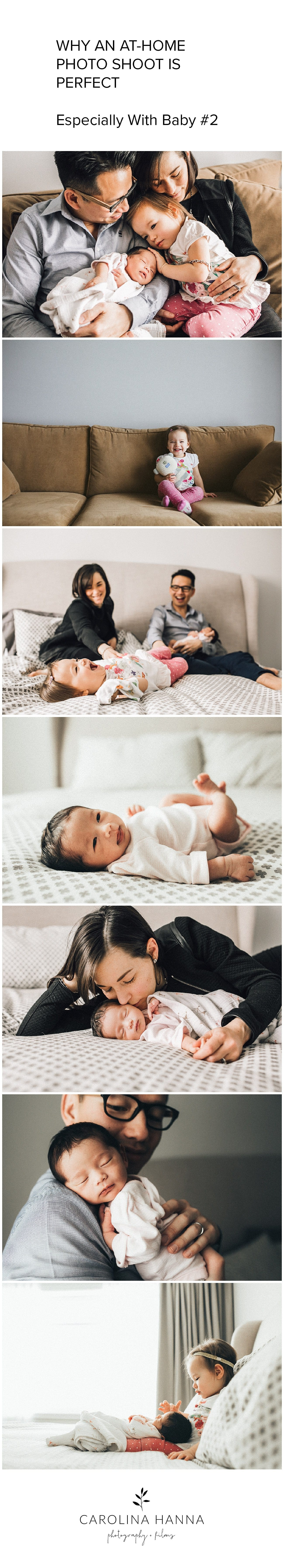 why you should have an in-home newborn session