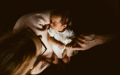 Newborn Baby Girl – First Days in Photographs
